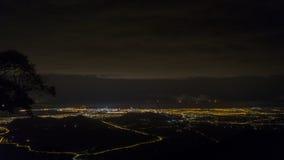 Night city of Danang Stock Photography