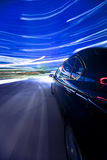 Night city driving Royalty Free Stock Images