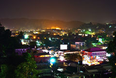 Night city of Kandy Royalty Free Stock Photography