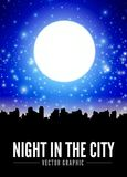 Night city Royalty Free Stock Images