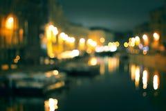 Night city life Royalty Free Stock Image