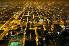Night city lights royalty free stock images