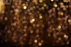 Night city lights bokeh Stock Photos