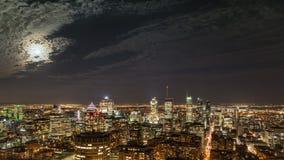 NIGHT CITY MONTREAL Royalty Free Stock Image