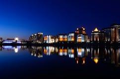 Night city Royalty Free Stock Image