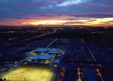 Night City-Scape @ Sunset Royalty Free Stock Photo
