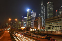 The night city shines Royalty Free Stock Photo