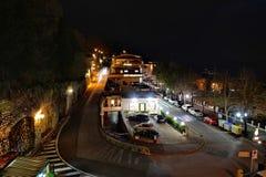 Night city street Royalty Free Stock Photography
