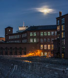 Night city. Tampere, Finland. Stock Photography