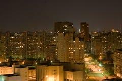 Night city view Stock Image