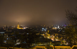 Night city view Stock Photography