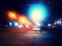 Night city Royalty Free Stock Photo