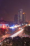 Night city in Zhuhai, China Royalty Free Stock Image