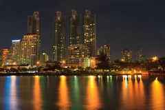Night Cityscape Royalty Free Stock Photo