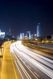 The night cityscape Royalty Free Stock Photography