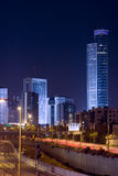 The night cityscape Stock Photography