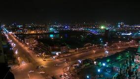 Night Cityscape stock footage
