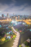 Night cityscape of bangkok Stock Photo