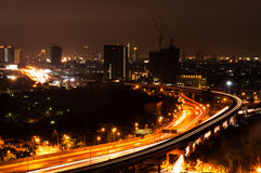 Night Cityscape Stock Photos