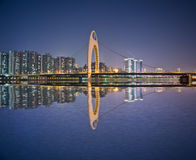 Night cityscape in GuangZhou. Royalty Free Stock Image