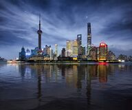 Night Cityscape of Shanghai