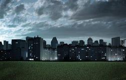 Night cityscape Stock Photo