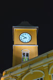 Night Clock Tower Stock Image