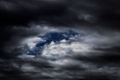 Night clouds Royalty Free Stock Photography