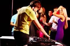 In night club Stock Image