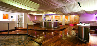 Night club. Interior of a night club Stock Photography