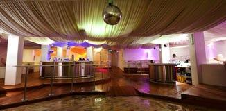 Night club. Interior of a night club stock photography
