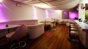 Night club. Interior of a night club stock image