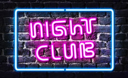 Night-club Fotografia Stock