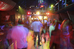 Night club. Night disco club Stock Photography