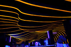Night club architecture Royalty Free Stock Image