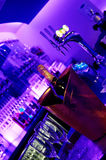 Night club bar. Modern and stylish night club bar Royalty Free Stock Image