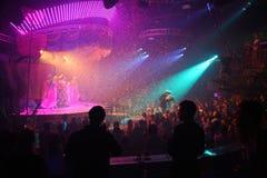 Night club celebration royalty free stock photography