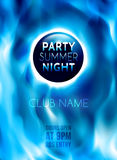 Night Club Colorful Flyer Template. Vector Stock Photography