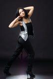 Night club dancer Stock Photo