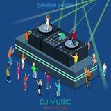 Night club DJ party concept Royalty Free Stock Photo