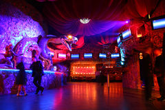 Night club interior Stock Photos