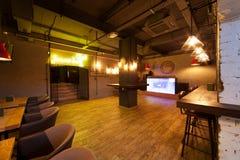 Night club interior. Stock Images