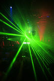 Night Club Party Background Stock Image