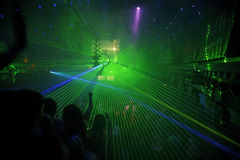 Night Club Party Background Royalty Free Stock Photography