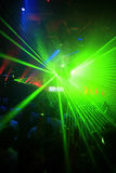 Night Club Party Background Stock Photo