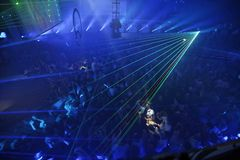Night Club Party Background. Night Club Music Event Party Laser Lights Background Stock Photos