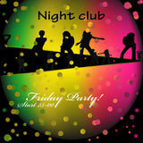 Night club Royalty Free Stock Image