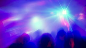 Night Club Party Scene stock video footage
