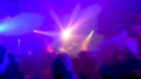 Night Club Party Scene stock video