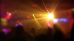 Night Club Party Scene stock footage